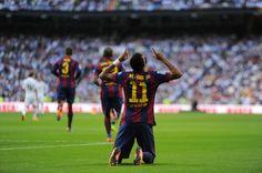 ¿Dios mío por qué, por que el 3–1 madrilista? La Liga. Real Madrid vs. FC Barcelona [sábado, 25 de octubre de 2014].