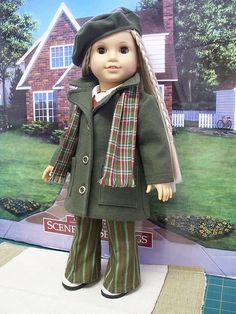 1970's 7 piece outfit made for American Girl Doll Julie. by Keepersdollyduds, via Flickr