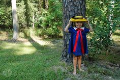 I have never seen such a cute Madeline! Hoping my girls will want to dress up like her one day.