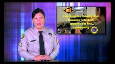 LASD Update: Arson/Explosives Detail, Jail Inmates Refurbishing Eyeglasses, via YouTube.