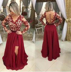 040090529 Vestido saia removível vermelha tule e renda k 39erz524q