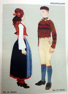 Svenska Folkdräkter