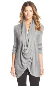 Nordstrom Lingerie Long Wrap Cardigan available at #Nordstrom