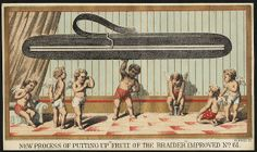 New process of putting up 'fruit of the braider' improved … Boston Public Library, Dry Goods, 19th Century, Victorian, Fruit, American, Cards, Prints, Mini Craft