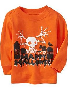 Halloween Tees for Baby