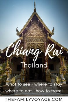 We've checked out nearly all the options for things to do in Chiang Rai, Thailand so you don't have to! Pin and click this article to find out how to see the best sites in just two days, plus where to stay, where to eat and even how to get to Chiang Rai. Traveling With Baby, Travel With Kids, Family Travel, Summer Travel, Thailand Travel Guide, Visit Thailand, Travel Blog, Asia Travel, Travel Pics