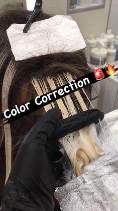 Hair Foils, Hair Color Streaks, Balayage Hair Tutorial, Hair Color Formulas, Colorista, Natural Hair Care Tips, Hair Color Techniques, Bleached Hair, Blonde Highlights