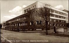 Königsberg Pr.  Ostpreußische Mädchen - Gewerbeschule
