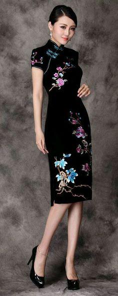 3ebd090ad9bbc Vestido Soltinho, Vestido Curto, Vestido Florido, Vestido Madrinha, Estilo  Chinês, Estilo