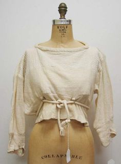 Shirt, Buffalo Girl Vivienne Westwood (British) ca. 1982 cotton, metal