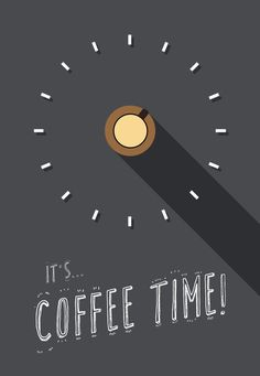 it's... COFFEE TIME! more #flatart i've made by myself (Jelle Koiter). proud of it!
