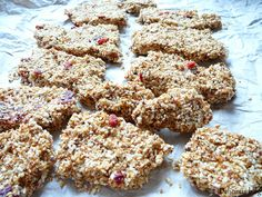 Sezamové sušenky Krispie Treats, Rice Krispies, Delicious Blog, Smoothies, Cereal, Cookies, Breakfast, Cake, Desserts