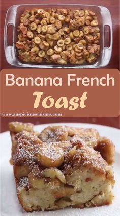 Banana French toast is an easy and quick recipe. The ingredients are very simple and economic in use. The best thing about banana French toast is that brown sugar is used instead of sugar which contains low calories and gives different taste. The best serving for your Sunday breakfast