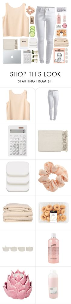 """My Super Rookie Boy"" by trnslucid ❤ liked on Polyvore featuring Monki, Pieces, Muji, Surya, COVERGIRL, Topshop, Brahms Mount, Takayaka, philosophy and Zara Home"