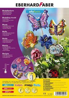 Formy na sadru - motýle (8 motívov)