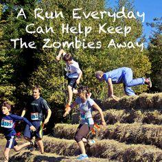 5 km Zombie Trail Run,  McDonald's Sports Park Waverley, Nova Scotia