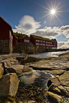 Tinganes, Faroe Islands, Denmark