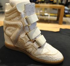 "Beyonce's ""King Bey,"" Isabel Marant-Inspired Wedge Sneakers"
