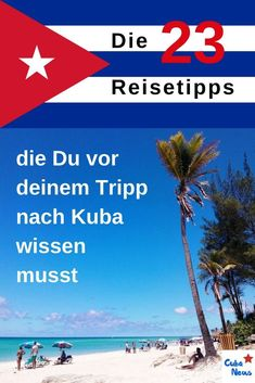 Dann lies dir durch, was du WIRKLICH vorher wissen musst: u… You want to go to Cuba? Then read through what you REALLY need to know beforehand: our 23 travel tips for your first trip to Cuba 🙂 Travel Packing, Solo Travel, Budget Travel, Travel Guide, Europe Destinations, Trinidad, Viva Cuba, Going To Cuba, Central America