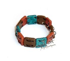 Made of clay: bracelet