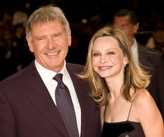 Harrison Ford and Calista Flockhart at the 2009 Deauville American Film Festival- Hollywood Couples, Hollywood Star, Celebrity Couples, Celebrity Photos, Hollywood Icons, Celebrity Weddings, Harrison Ford, Plastic Surgery Photos, Celebrity Plastic Surgery