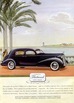 1936 Cadillac Fleetwood Town Sedan
