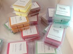 8 Six Packs Wax Melts - Choose from 160 scents -100% American Soy- Maximum Scented on Etsy, $19.95