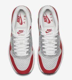"Nike WMNS Air Max 1 Ultra Flyknit ""OG Red"" - EU Kicks: Sneaker Magazine"