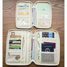 83a9d4d3af Multi-slots Travel Passport Holder Organizer Cover ID Card Bag Passport  Wallet Phone Storage Bag Is High Quality-NewChic Mobile