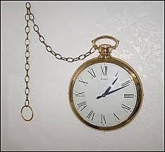 pocket watch wall clock - Google Search