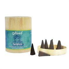 Life takes on a heavenly appeal as swirls of divine aroma waft from these incense cones. The mystic aroma of Rose, Geranium, Mimosa and Bergamot invokes Shri Krishna, the icon of love, divine joy and the destroyer of pain.  #gift #uniquegiftideas #diwali #incense #organic #krishna #botanical #handrolled