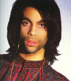 "Scan from the Lovesexy Tour Book which I think is Prince possibly previewing the Rave Unto The Joy Fantastic era look with what's known as a ""3 o'clock shadow"" and un-plucked/trimmed eyebrows(!). Incidently, this was the photo Steve Parke (a great portrait painter/illustrator, horrendous art director, photog and designer, typographer) used to create the Graffiti Bridge album cover which was sort of the ""Rave Unto"" album."