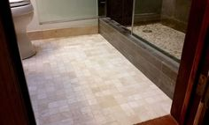 neat swifter hack 4 ingredient diy bathroom tile grout cleaner, bathroom ideas, cleaning tips, tiling, Shining Floors Clean Grout Make me Happy