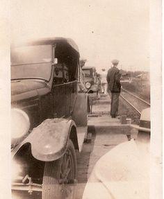 Model T Ford near Railroad Tracks Arkansas Shuttle Train Bald Knob to Wynne Arkansas Arkansas Usa, Fort Smith, Henry Ford, Train Tracks, Old Trucks, Vintage Postcards, Old Photos, Knob, Railroad Tracks