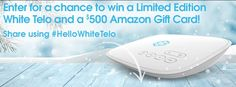 Enter toWin a Limited Edition White Telo from Ooma + $500 Amazon card! Click Here