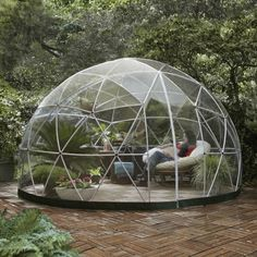 Great Multi-purpose Garden Igloo Sheds, Huts & Tree Houses