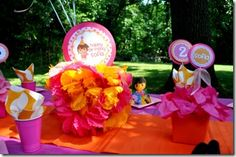 Dora the Explorer birthday party  Frosted Events