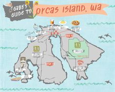 gaby's guide to orcas island