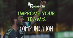 Communication skills are crucial for effective sports teams. How you can develop effective communication, with quotes and examples from the professionals. Effective Communication, Communication Skills, Defensive Soccer Drills, Team Success, Football Soccer, Improve Yourself, Art, Art Background, Kunst