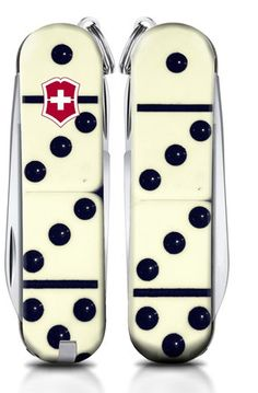 "There's still time to submit your Swiss Army Knife handle design for a chance to win $2000 in prizes courtesy of @VictorinoxSwissArmy and @SportsAuthority! Go to www.DesignSAK.com and submit your design through June 23 – like ""Dominoes"" from Christopher Testa.  Top three winning designs will be sold in select Sports Authority stores this Fall. Can't wait to see your submissions! #SwissArmyKnife #EnterToWin #sportsauthority"