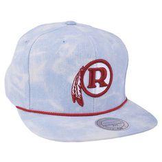 NFL Vintage Mitchell Ness Acid Wash Washington Redskins Football Snapback  Hat 6cac9e345