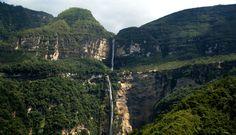 Hike to the Gocta falls in Chachapoyas, Peru