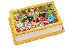 Daniel Tiger Edible Image Sheets Cake Toppers Frosting Sheet *** Click on the image for additional details.(This is an Amazon affiliate link and I receive a commission for the sales)