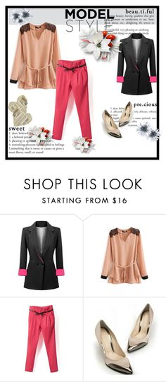 """""""BEAUTIFULHALO"""" by lela1992 ❤ liked on Polyvore featuring women's clothing, women's fashion, women, female, woman, misses and juniors"""