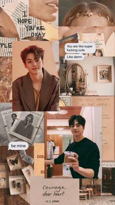 Cute Cat Wallpaper, K Wallpaper, Aesthetic Iphone Wallpaper, Aesthetic Wallpapers, Wallpaper Quotes, Song Kang Ho, Sung Kang, Handsome Korean Actors, Handsome Boys