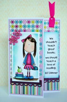 Two Scrapbook Friends  Bookmark card