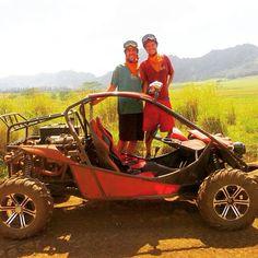 Mudbuggies through Jurassic Park #Kauai #ATV #Tomcar