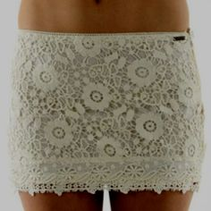 This is not a lace skirt, Billabong; this is a slip to go under a whole skirt.