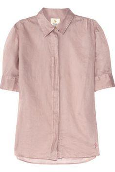 MiH Jeans Birkin Cotton-Voile Shirt, $200, Net-A-Porter