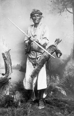 Navajo man - circa 1900